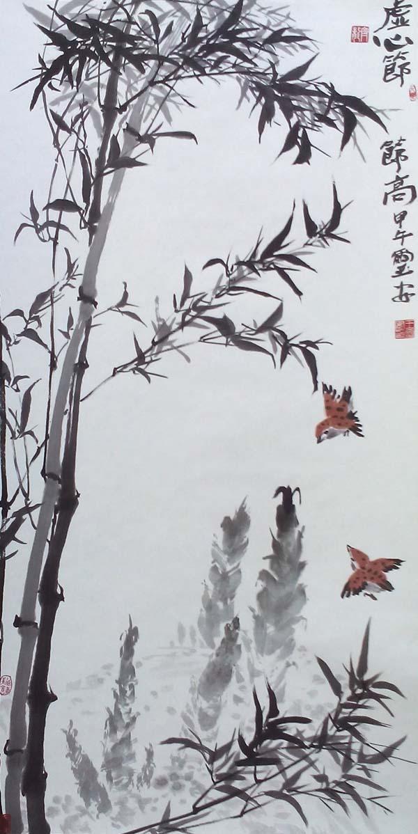 1984年,创作年画作品《家种梧桐树引来金凤凰》等被河北美术出版社