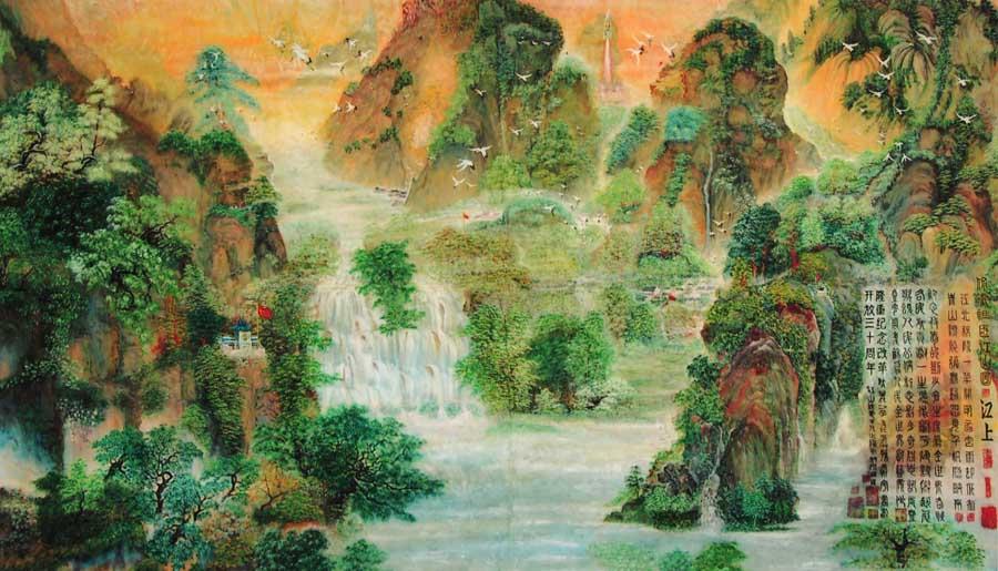 主要作品有古代各种图像,水粉,水墨,水彩,泼彩,素描,白描,国画工笔